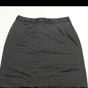 New without tags Lane Bryant cotton pencil skirt